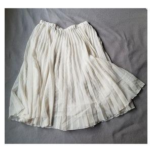 Dresses & Skirts - S/M lined sheer fabric skirt